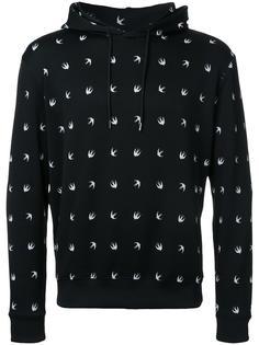 swallow drawstring hoodie  McQ Alexander McQueen