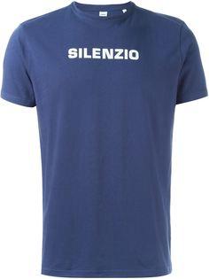 футболка с принтом silenzio Aspesi