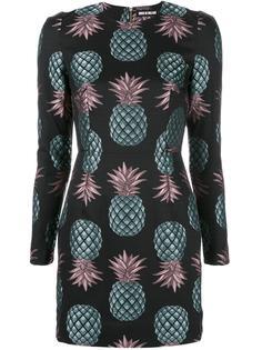 "облегающее платье ""Pineapple"" House Of Holland"