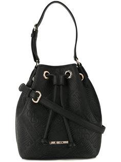 сумка -мешок на плечо Love Moschino