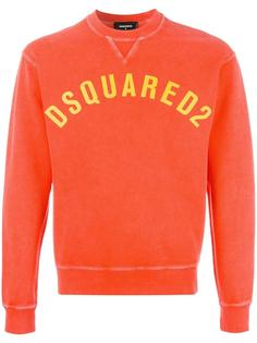 printed logo sweatshirt Dsquared2