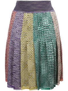 плиссированная юбка Missoni