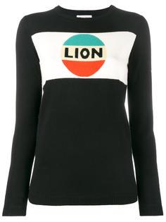свитер с принтом Lion Bella Freud