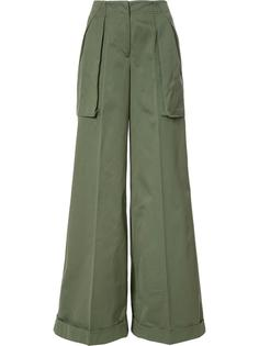 super flared trousers  Monse