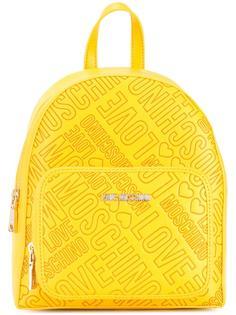 рюкзак с принтом-логотипом Love Moschino