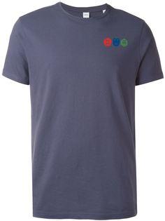 футболка с принтом логотипа Aspesi