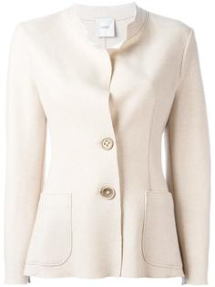buttoned fitted jacket Agnona