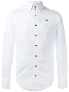 рубашка с вышивкой логотипа Vivienne Westwood Man