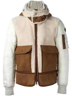 стеганая куртка с капюшоном Moncler