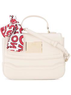 сумка-футляр через плечо Love Moschino