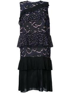 многослойное платье прямого кроя Markus Lupfer