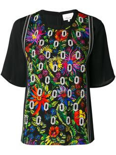floral embroidered crepe blouse 3.1 Phillip Lim