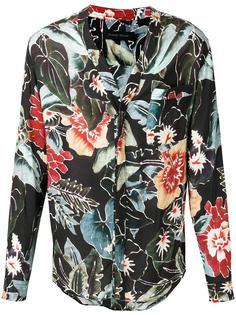 floral print shirt Christian Pellizzari