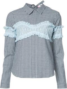 checked shirt  Sandy Liang