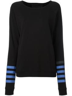 stripe detail sweatshirt Freecity