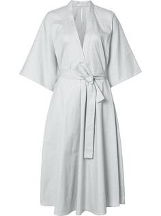 платье длины миди с запахом Tome