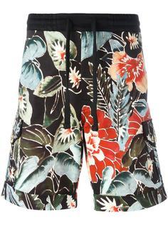 floral print shorts Christian Pellizzari