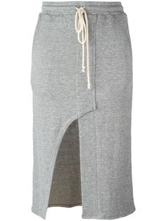 юбка-карандаш со шлицей спереди Lost & Found Rooms