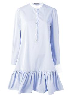 полосатое платье Alexander McQueen
