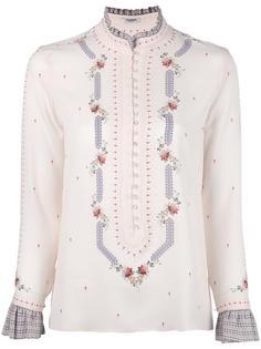 блузка с цветочным узором Vilshenko