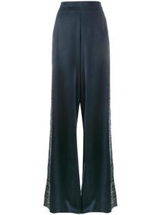 широкие брюки с вышивкой Lot78