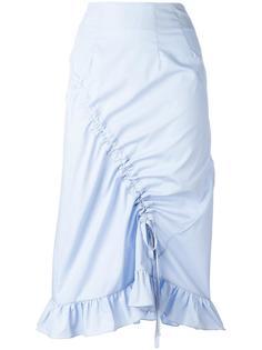 юбка с оборками  Preen By Thornton Bregazzi