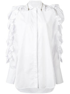 свободная рубашка с оборками  Preen By Thornton Bregazzi