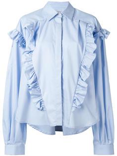 рубашка с оборками  Preen By Thornton Bregazzi