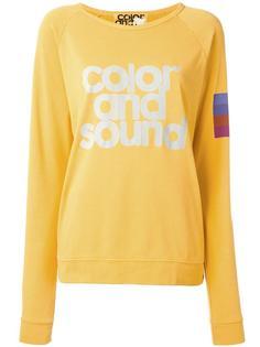 Color and Sound print sweatshirt Freecity