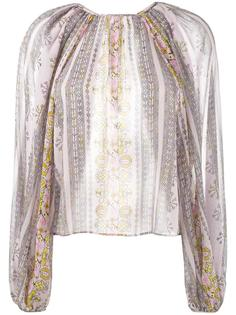 блузка с широкими рукавами Giambattista Valli
