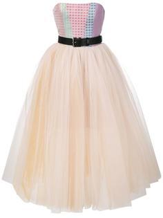 пышное платье без бретелек Natasha Zinko