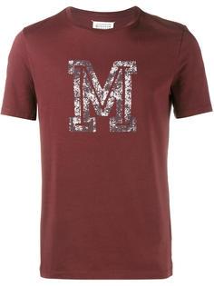 футболка с принтом логотипа  Maison Margiela