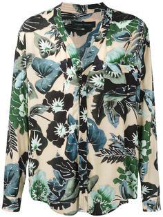 рубашка с цветочным принтом Christian Pellizzari