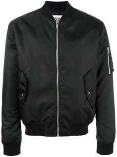 куртка бомбер с логотипом Moschino