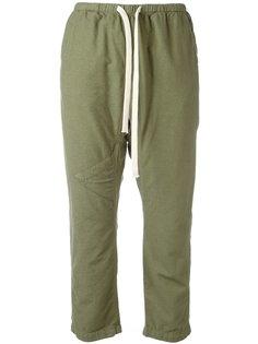 drawstring cropped pants Freecity