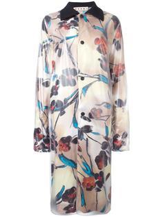пальто с цветочным узором Marni