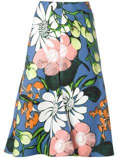 юбка с принтом Madder Marni