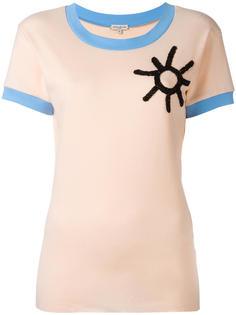 футболка с контрастной окантовкой  Natasha Zinko