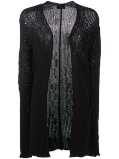 elongated sleeves open cardigan Lost & Found Ria Dunn
