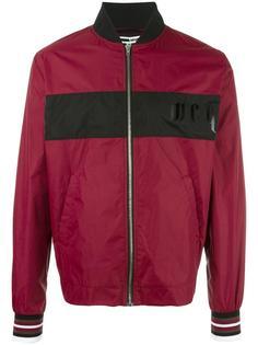 куртка-бомбер с контрастной полоской McQ Alexander McQueen