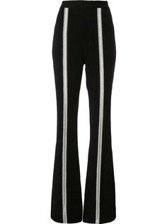 stripe detail flared trousers Jonathan Simkhai