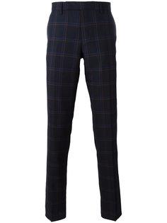 классические брюки в клетку Paul Smith