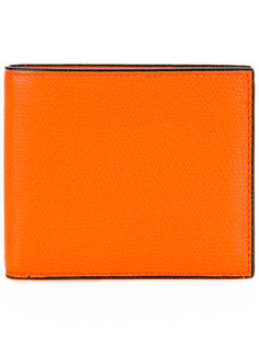grained detail wallet  Valextra