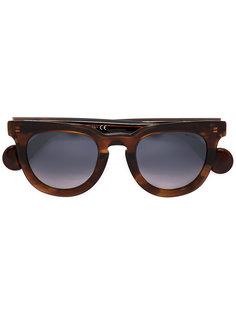 солнцезащитные очки в круглой оправе Moncler