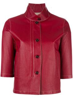 укороченная куртка из кожи ягненка Loro Piana