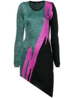 асимметричное платье Tiger Flash  Dsquared2