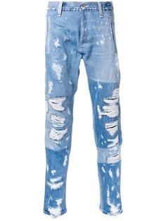 рваные джинсы Longjourney
