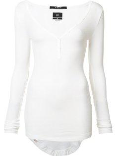 longsleeved buttoned T-shirt Ksubi