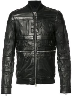 leather bomber jacket Hood By Air