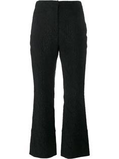 парчовые брюки Erdem